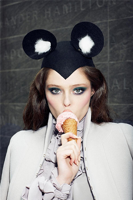 coco-rocha-cute-disney-eyes-make-up-fashion-ice-cream-favim-com-68804